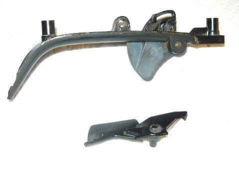 Pioneer P50, P40, p41 chainsaw lower grip assembly - handle cover, trigger, safety lever