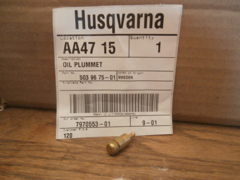 Husqvarna 359, 357 xp Oil Pick up filter (H-39)