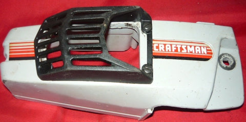 poulan built craftsman model # 358.355061 chainsaw clutch cover with guard