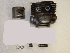 Husqvarna 372xp Chainsaw Piston and Cylinder 50mm Mahle (one broken cooling fin)