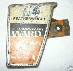 Montgomery Ward Featherlweight 2.1 Clutch Side Cover