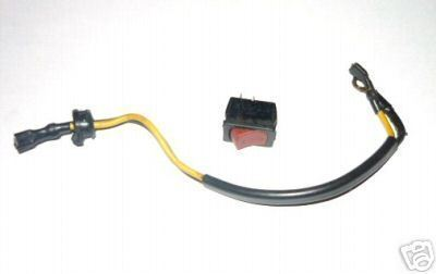 Jonsered 2040 Turbo Chainsaw Ignition Off Switch w/Wire