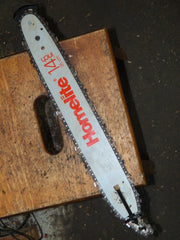 "14"" Homelite Chainsaw Bar and Chain USED"