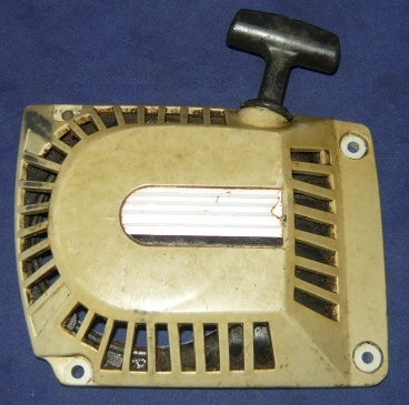 poulan built craftsman 2.8, 3.0 chainsaw starter cover and pulley assembly