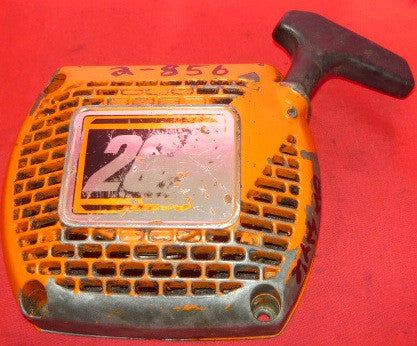 olympic 264 chainsaw complete starter recoil cover and pulley asssembly