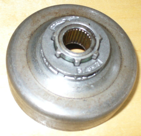 roper built craftsman 3.7 chainsaw clutch rim sprocket drum (with bearing and rim)
