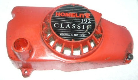 homelite 192 chainsaw recoil/starter cover and pulley
