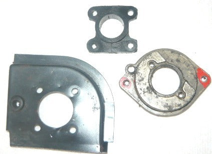 homelite 360 chainsaw manifold, deflector and carburetor flange