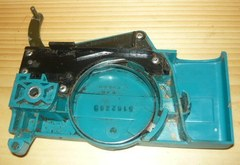 Makita DCS 401 Chainsaw Chainbrake/Clutch Cover with band, spring, cover, arm
