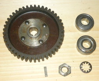 David Bradley model # 355.50130 Chainsaw Drive Gear and Bearings