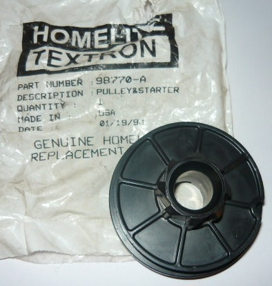 Homelite trimmer New Pulley A98770A Box 1