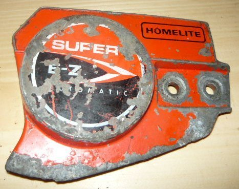 homelite super ez chainsaw clutch side cover