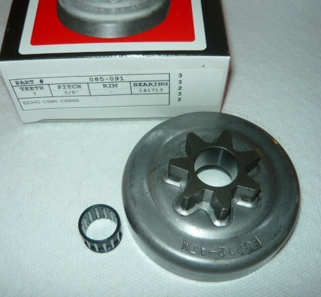 echo cs60, cs60s chainsaw gb pro spur sprocket and bearing new (sprkt bin 1)