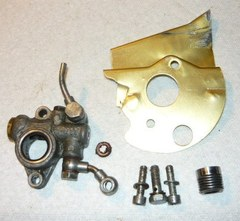 Alpina Pro 45 Chainsaw Oil Pump w/ Drive Gear