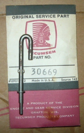 tecumseh governor rod pn 30669 new (Tec. box 1)