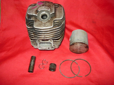 Partner R16 Chainsaw 44mm, 55cc Piston and Cylinder kit #1