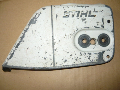 stihl 026 av chainsaw clutch cover #2 (early model metal)