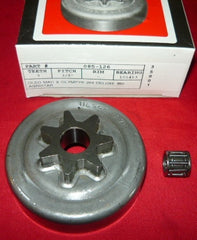 oleo mac & olympyk 264 deluxe, 350 agristar chainsaw gb pro spur clutch sprocket new (spkt box 4)