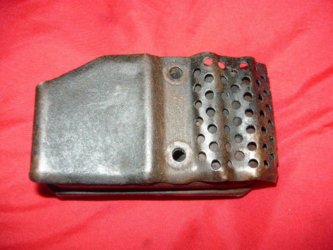 jonsered 510sp, 520sp chainsaw muffler with grille plate