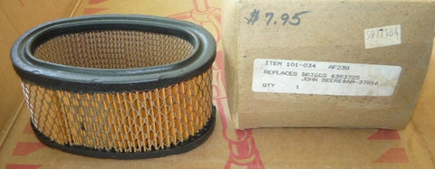 briggs and stratton air filter pn 101-034 replaces briggs 393725 new (B&S bin 1)