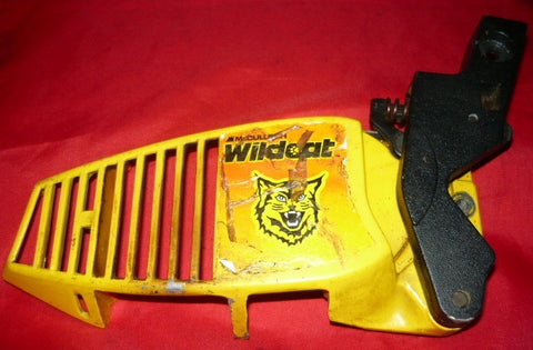 mcculloch mac wildcat chainsaw chainbrake assembly
