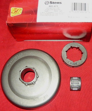 "husqvarna 50, 51, 55, 154 +, Partner 400, p500, p5000 +, Poulan chainsaw gb .325""-7T center drive rim sprocket drum new (sprkt box 10)"