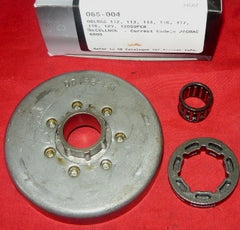 "dolmar 112, 113, 114, 116, 117, 119, 120, 120s and mcculloch promac 6800 chainsaw gb 3/8"" - 7T center drive rim sprocket drum new (sprkt box 10)"