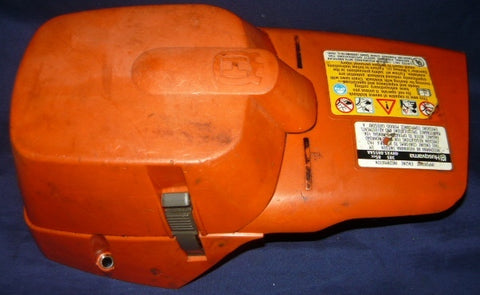 Husqvarna 385 Chainsaw Top Cover And Air Filter Cover For