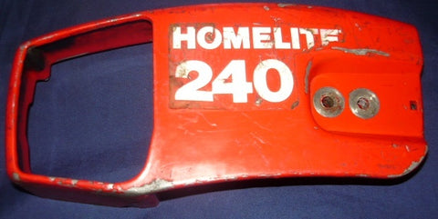 homelite 240 chainsaw clutch side cover with tensioner