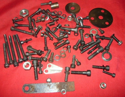 olympic 251 chainsaw lot of assorted hardware
