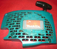 makita dcs 43 to 540 series chainsaw starter recoil cover and pulley assembly