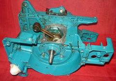 makita dcs 520 chainsaw crankcase chassis with crankshaft