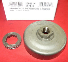 stihl 017, 018, 019, 021, 023, 025 chainsaw oregon clutch .325-7rim sprocket drum new pn 100961x (sprkt bin5)