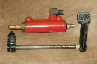 homelite xl-902 chainsaw manual oil pump assembly