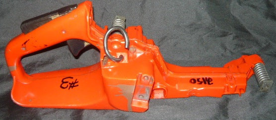 jonsered 2150 turbo chainsaw fuel tank rear trigger handle #3 with spr | Chainsawr