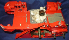 solo 651 chainsaw crankcase tank with crankshaft
