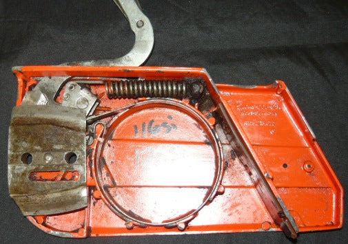 Used John Deere Parts >> dolmar 117 112 113 119 120 chainsaw complete chainbrake assembly | Chainsawr