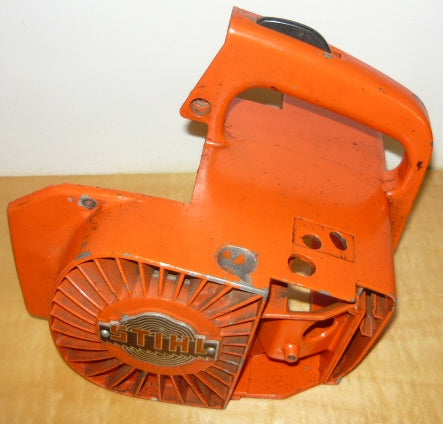 stihl 015 chainsaw starter recoil cover and pulley ...