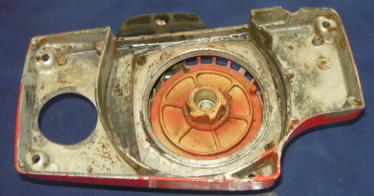 Poulan Built Craftsman 3 7 Chainsaw Starter Cover And Pulley Assembly