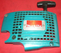 makita dcs 520i chainsaw starter recoil cover and pulley assembly