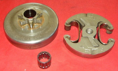 husqvarna 450, 445, 450e, 445e chainsaw complete clutch spur sprocket assembly