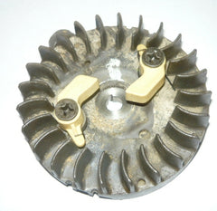 mcculloch pro mac 610, 605, 650, 3.7 eager beaver chainsaw flywheel with starter pawls