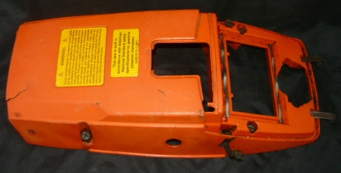 husqvarna 395xp chainsaw top cover shroud