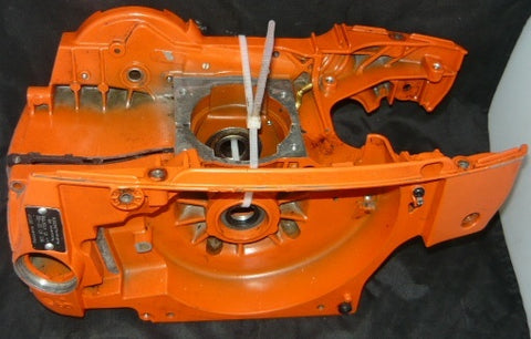 husqvarna 385xp chainsaw crankcase housing assembly