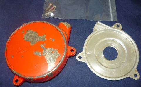 homelite c-72 chainsaw starter housing cover and pulley assembly