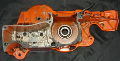 husqvarna 372 chainsaw crankcase housing half only (right, clutch side)