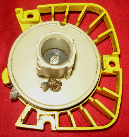 Mcculloch Eager Beaver 2 0 Chainsaw Yellow Starter Recoil Cover And Pulley
