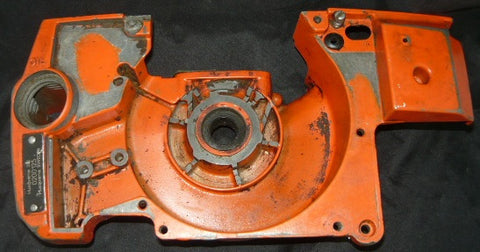 husqvarna 281 chainsaw crankcase housing half (left, flywheel side)