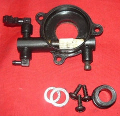 craftsman model # 316.350840 55cc chainsaw oil pump assembly