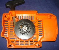 olympic 950f super chainsaw starter recoil cover and pulley assembly #2